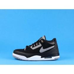 """Air Jordan 3 """"Black Cement"""" 854262-001 Black Gray"""