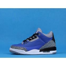 """Air Jordan 3 """"Varsity Royal"""" CT8532-400 Blue White Black"""