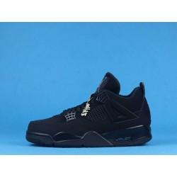 "Air Jordan 4 ""Black Cat"" CU1110-010 Triple Black"