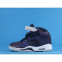 "Air Jordan 5 ""Oil Grey"" CD2722-001 Purple Gray"
