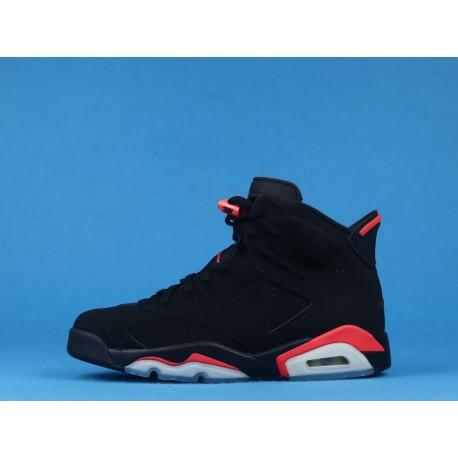 """Air Jordan 6 """"Infrared"""" 384664-060 Black Red"""