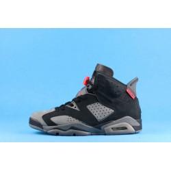 "PSG x Air Jordan 6 ""Iron Grey"" CK1229-001 Black Gray Red"