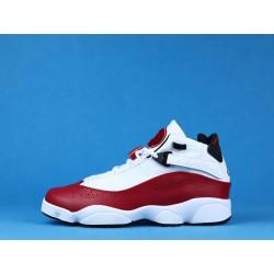 """Air Jordan 6 RIngs """"White University Red"""" 322992-120 Red White"""