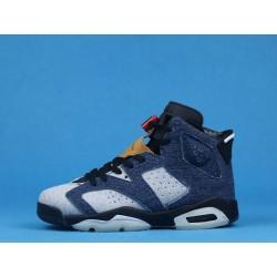"Levis x Air Jordan 6 ""Washed Denim"" CT5350-401 Blue Black"