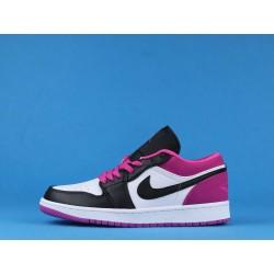 """Air Jordan 1 Low """"Magenta"""" CK3022-005 Purple Black White"""