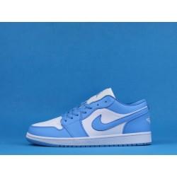 "Air Jordan 1 Low ""UNC"" AO9944-441 Blue White"
