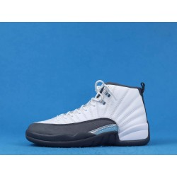 "Air Jordan 12 ""Dark Grey"" 130690-160 White Gray"