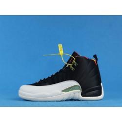 "Air Jordan 12 ""Chinese New Year"" BQ6497-006 Black White"