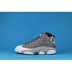"Air Jordan 13 ""Atmosphere Grey"" 414571-016 White Gray"