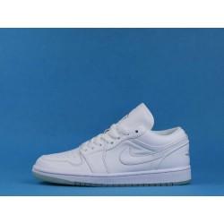 """Air Jordan 1 Low """"White"""" 309192-111White Silver"""