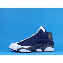 "Air Jordan 13 ""Flint"" 414571-404 GIGI Blue White"