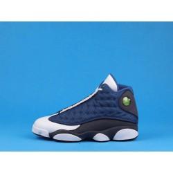 "Air Jordan 13 ""Flint"" 414571-401 GIGI Blue Black White"