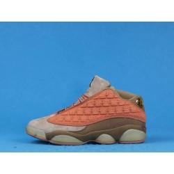 """Clot x Air Jordan 13 Low """"Terracotta"""" AT3102-200 Pink Brown"""