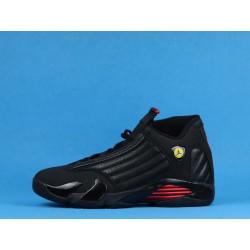 """Air Jordan 14 """"Last Shot"""" 487471-003 Black Red"""