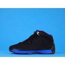 "Air Jordan 18 ""Black Sport Royal"" AA2494-007 Black Blue"