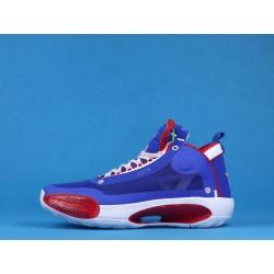 """Air Jordan 34 """"Captain America"""" Purple Red BQ3381-123"""
