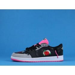 "Air Jordan 1 Low ""Chinese New Year"" CW0418-006 Black Pink"