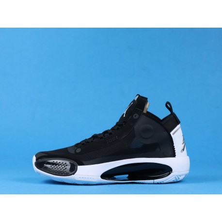 "Air Jordan 34 ""Eclipse"" AR3240-001 Black White"