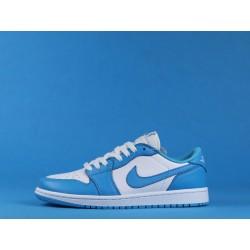 "Dunk SB x Air Jordan 1 Low ""UNC"" CJ7891-401 Blue White"