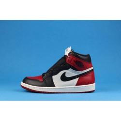 """Air Jordan 1 High """"Bred Toe"""" 555088-610 Black Red"""