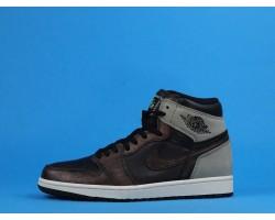 "Air Jordan 1 High OG ""Rust Shadow"" 555088-033 Black Grey Red 36-47"