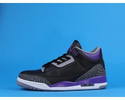 "Air Jordan 3 ""Court Purple"" CT8532-050 Black Purple 40-47"