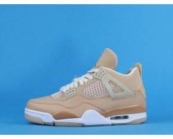 """Air Jordan 4 """"Shimmer"""" DJ0675-200 Khaki White 36-46"""