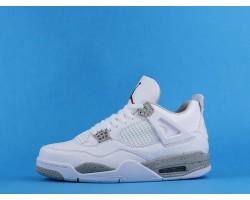"""Air Jordan 4 """"White Oreo"""" CT8527-100 White Grey 36-46"""