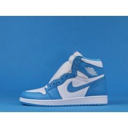"""Air Jordan 1 High """"UNC"""" 555088-117 Blue White"""