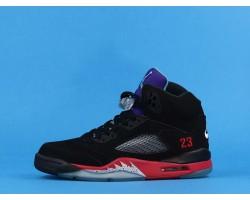 "Air Jordan 5 SE ""TOP 3"" CZ1786-001 Black Purple 40-47"