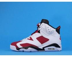 "Air Jordan 6 ""Carmine"" 384664-160 White Red 40-47"