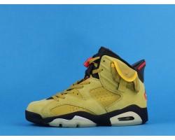 Travis Scott x Air Jordan 6 CN1084-300 Yellow Black 40-47