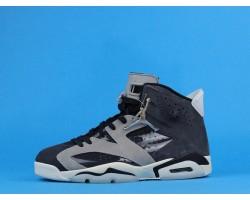 """Air Jordan 6 """"Tech Chrome"""" CK6635-001 Grey Black 36-47"""