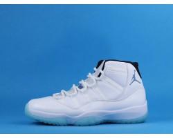 "Air Jordan 11 ""Legend Blue"" 378038-378037-117 White Blue 40-47"