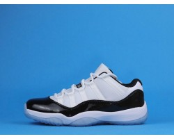 "Air Jordan 11 Low ""Concord"" 528895-153 Black White 40-47"