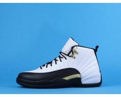 "Air Jordan 12 ""Royalty"" CT8013-170 White Gold 40-47"