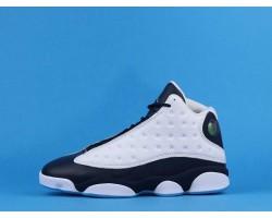 "Air Jordan 13 ""Obsidian"" Dark Powder Blue 414571-144 White Blue 40-47"