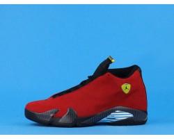 """Air Jordan 14 """"Ferrari"""" 654459-670 Red Black 40-47"""