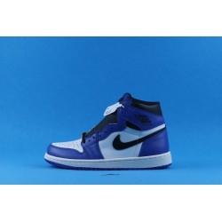 "Air Jordan 1 High ""Game Royal"" 555088-403 Blue White Black"