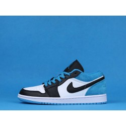 "Air Jordan 1 Low ""Laser Blue"" CK3022-004 Blue Black White"